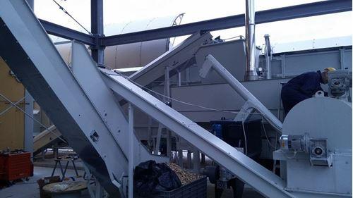Immagine di Impianto Asciugatura Cippato - Cogeneratore