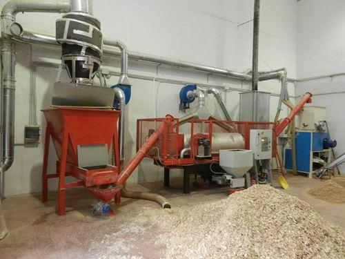 Immagine di Impianto Asciugatura Segatura - Pellet
